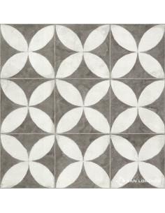 San Lorenzo Flower White Cer. 45.3x45.3 (2.05)