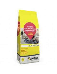 Weber Pastina Prestige Color Ceniza X 2 Kg.