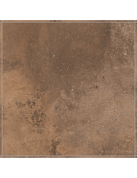 San Lorenzo Bauhaus Brown Rect Porc. 57.7x57.7 (1.33)