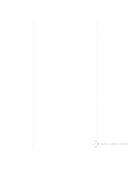 San Lorenzo White Pulido Porcel. 56,7x56,7 (1.29)